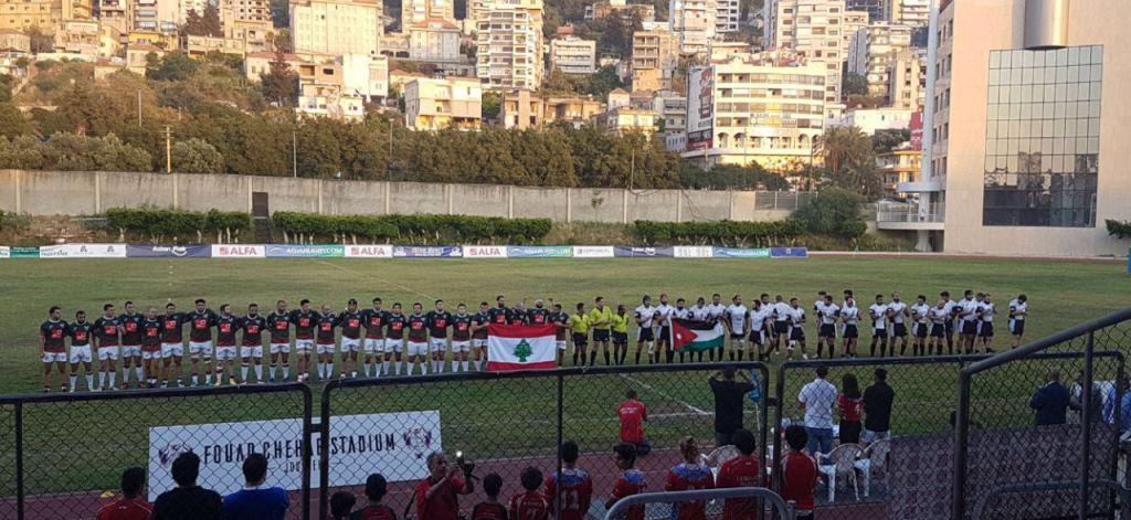 لبنان بطل غرب آسيا في الركبي يونيون